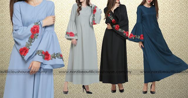 JUBAH NORZI www.norzibeautilicioushouse.com.my jubah berkualiti dan murah