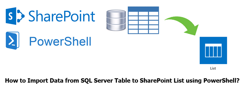 How to Import Data from SQL Server Table to SharePoint List using PowerShell?