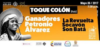 TOQUE COLÓN: LA REVUELTA, SOCAVÓN, SON BATÁ