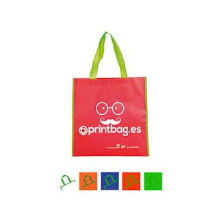 Bolsas recicladas baratas rojas