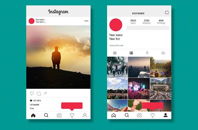 Mengatur Profil Instagram