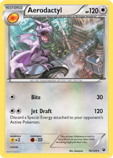 Aerodactyl Fates Collide Pokemon Card