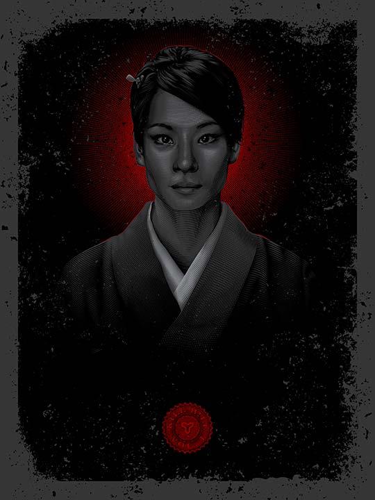 Ilustración, posters y retratos de Tracie Ching