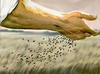 Resultado de imagen para Aquel día, salió Jesús de casa y se sentó junto al lago.