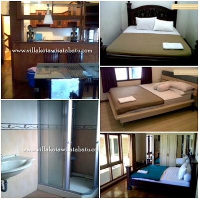 Kamar Villa Parikesit Dewi Sartika Kota Batu