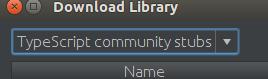Typescript community stubs