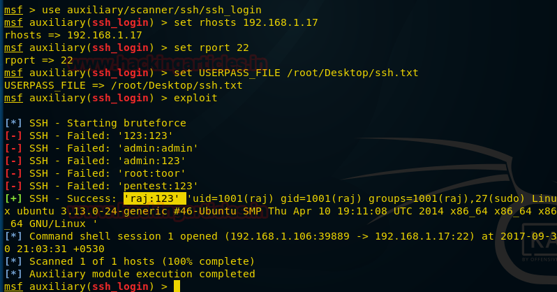 SSH Penetration Testing (Port 22)