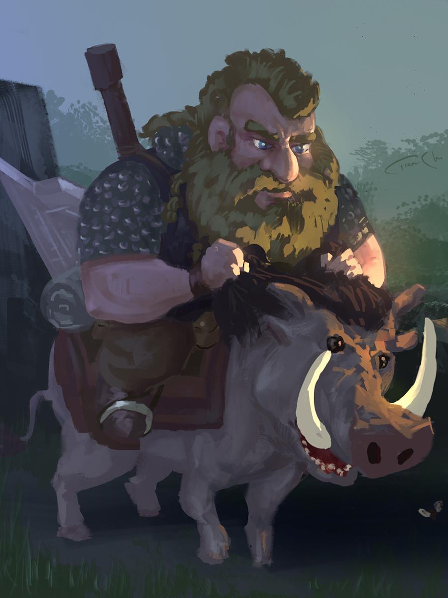 [Image: DwarfMountBoar.jpg]