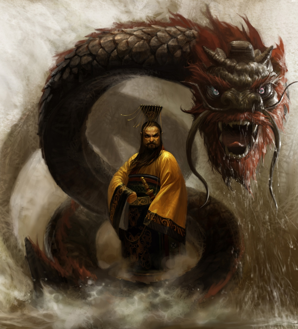 """Legend of Sleeping Dragon: """"The First Emperor"""" Qin Shi Huang"""