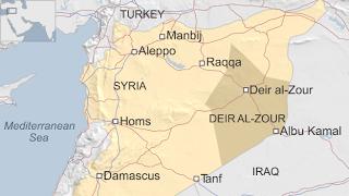 επαρχία Ντέιρ Εζόρ της Συρίας