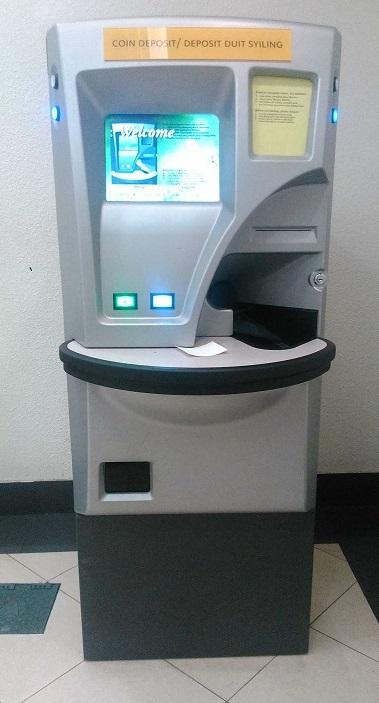 Mesin deposit duit syiling automatik
