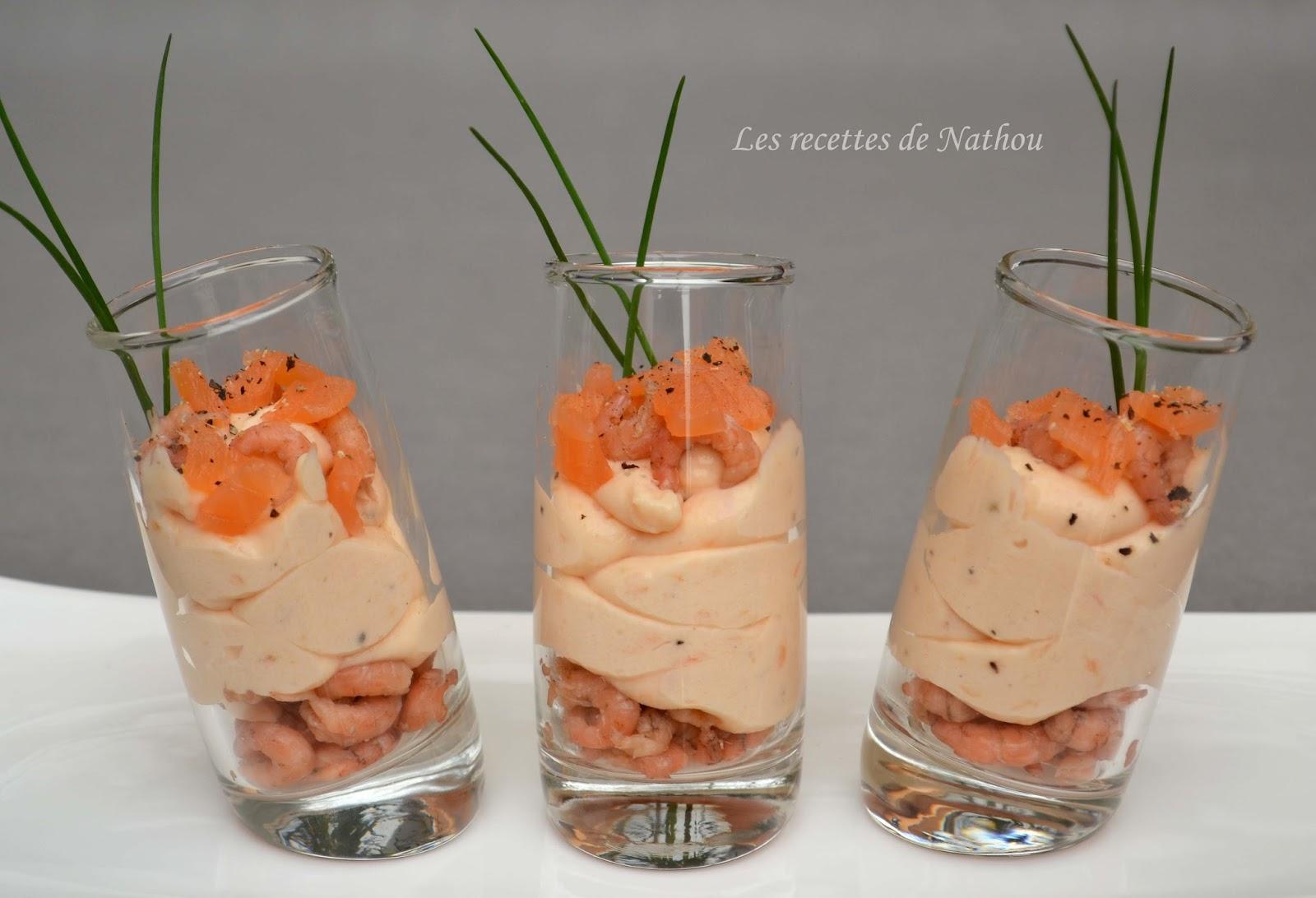 Ma Cuisine Au Fil De Mes Idees Verrines De Mousse De Saumon Fume
