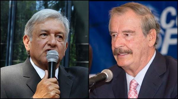 ¿A quién quieres engañar Obrador?, ´No mereces México´: Vicente Fox