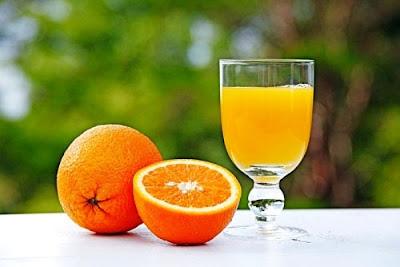 Nước cam chữa trị bệnh amidan