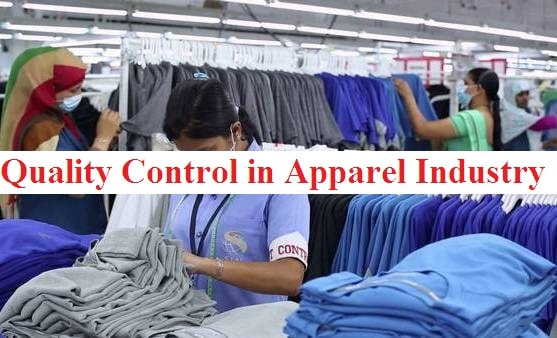 Quality control in apparel industry