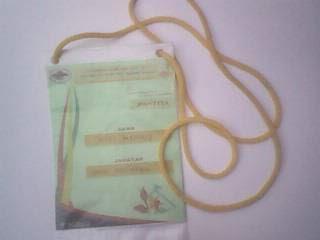 Cara membuat okarde atau kartu nama peserta dalam kegiatan dengan murah meriah