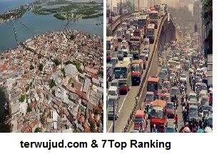 Daftar Kota Terpadat di Dunia