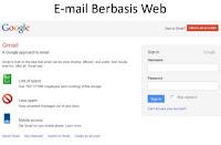 Pengertian Email berbasis web