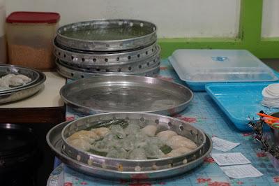 Proses membuat Chai kwe Parwasal Blogger Pontianak