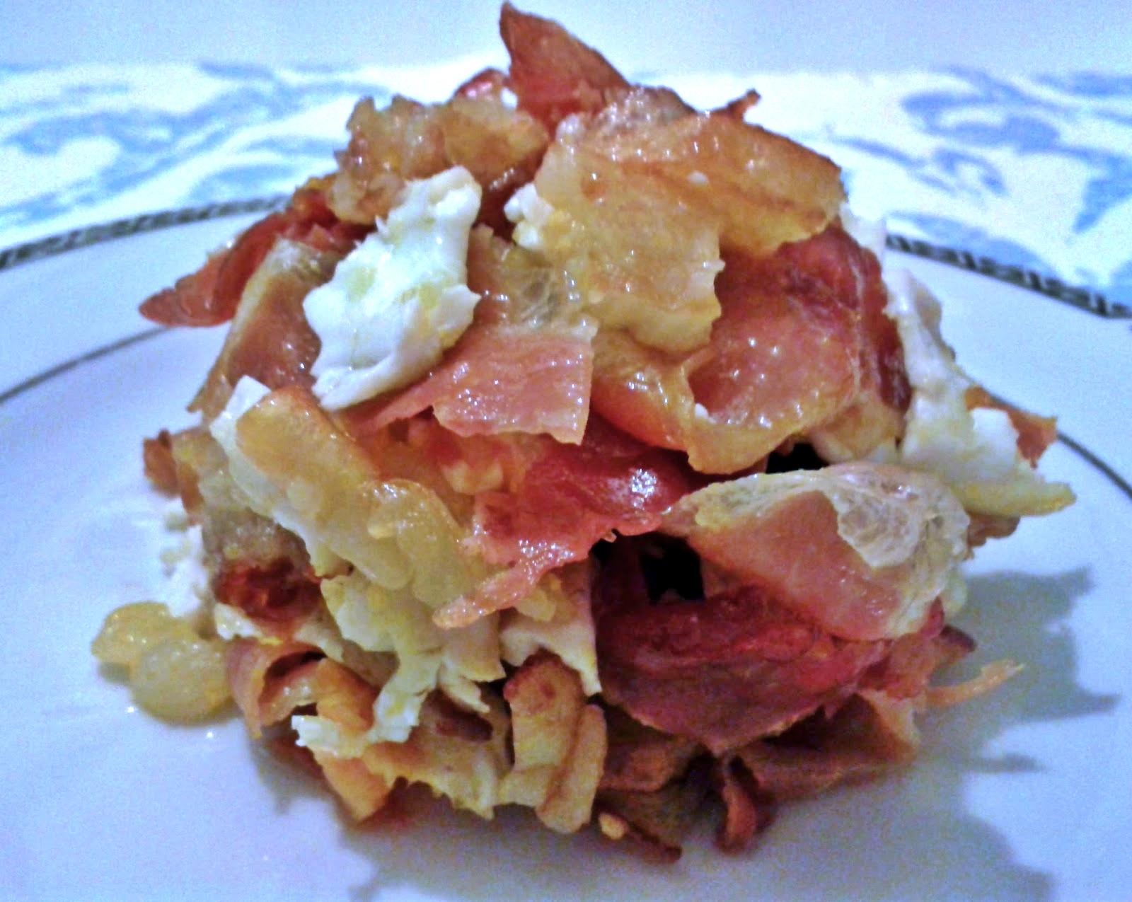 Lคs Ŗєcєтinคs Ðє kคr Gคrcíค..: Huevos rotos con jamón serrano y patatas