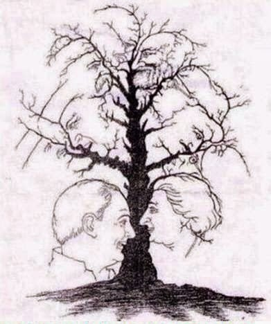 Hidden Faces of Indian Personalities in one tree Puzzle
