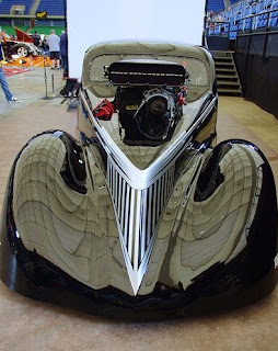 Ford 37 Drag Racing Car Style