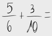 18.   Suma de fracciones