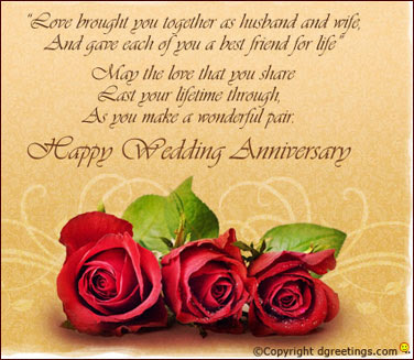 Wishes For Friends Marriage Anniversary