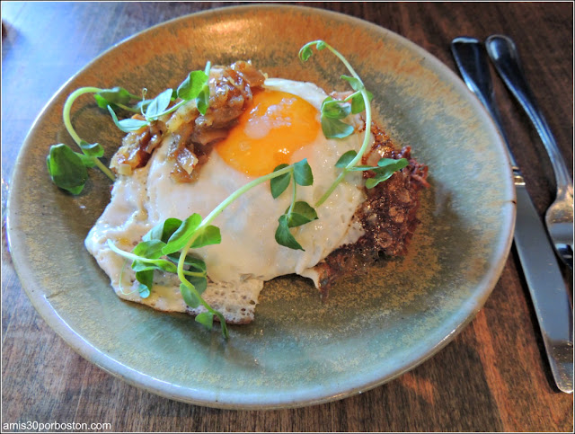 Brunch del Loyal Nine: Augusta Potato Rosti