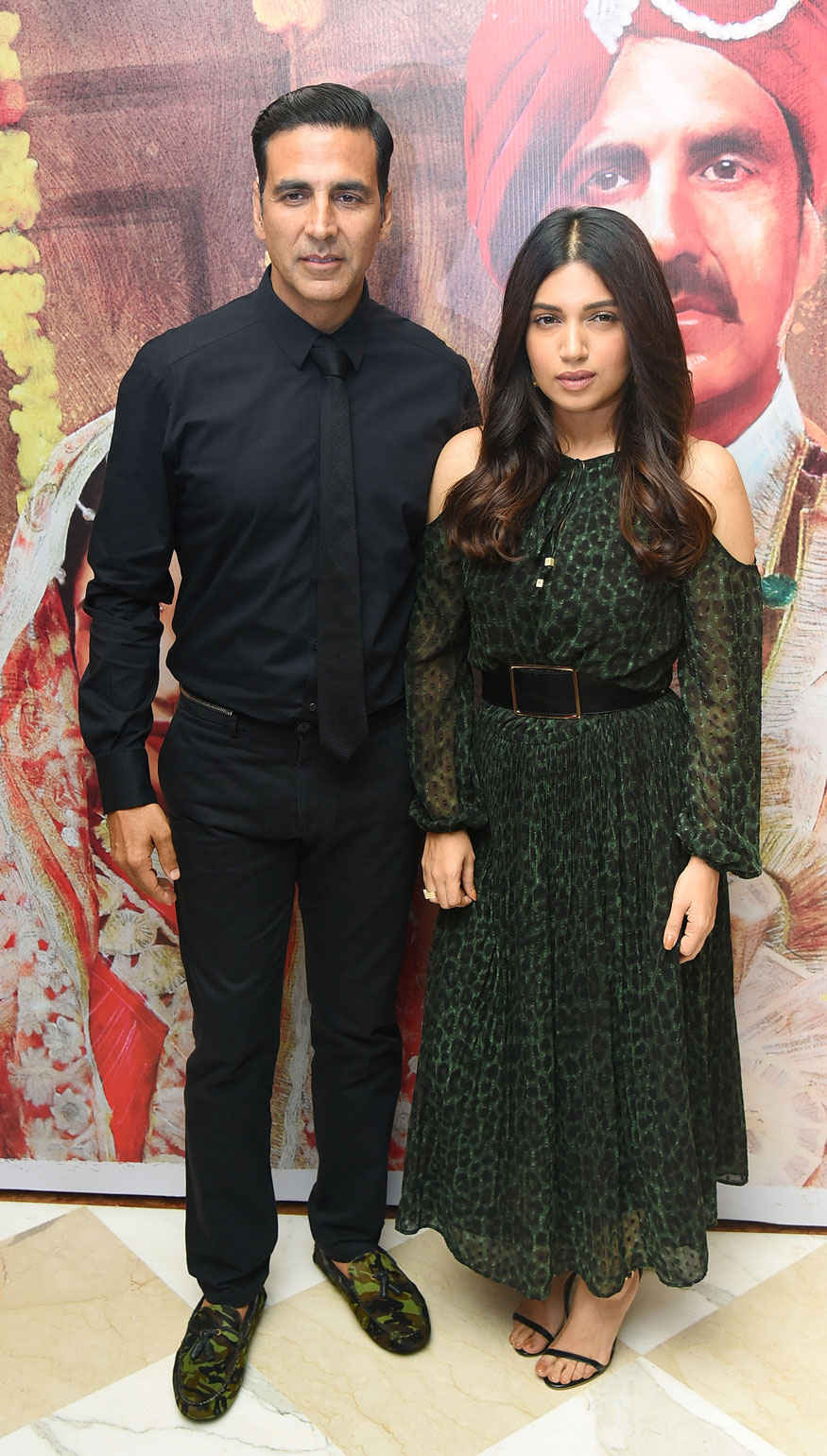 Akshay Kumar and Bhumi Padnekar Promoting Film 'Toilet: Ek Prem Katha' in Delhi