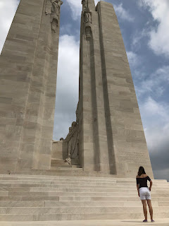 Canadian National Memorial, Vimy Ridge, France