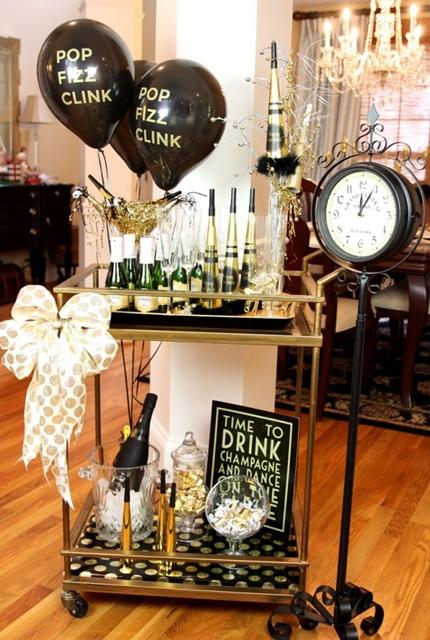 como decorar festa ano novo