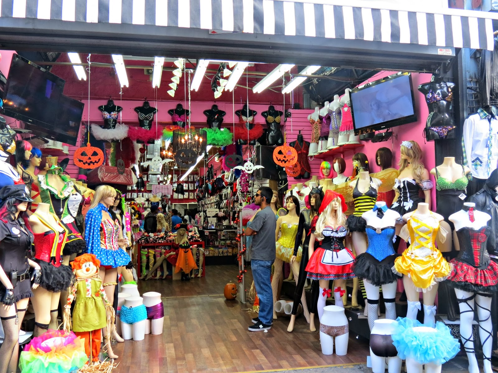 The Santee Alley Santee Alley Halloween Costume Shopping