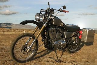 sportster gs adventure by gasser customs