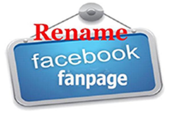 doi ten trang facebok