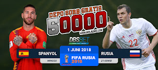spanyol vs rusia piala dunia 1 juli 2018