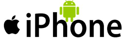 Convert your iphone to Android mobile