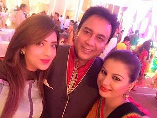 Bidya Sinha Saha Mim With Bangladeshi Actor Zahid Hasan