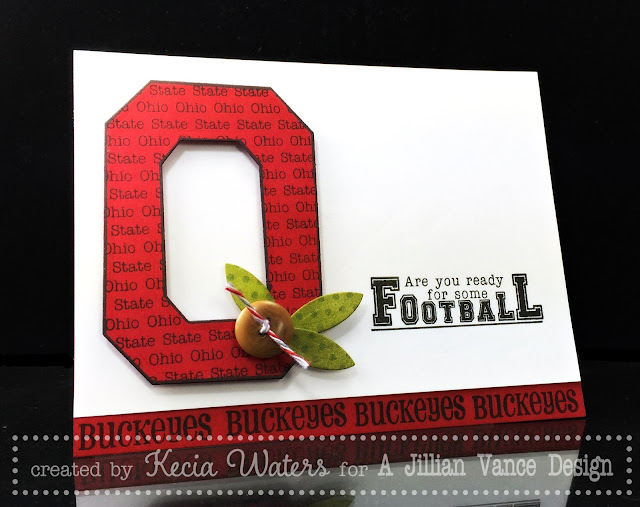 AJVD, Kecia Waters, Ohio State, Buckeyes, football