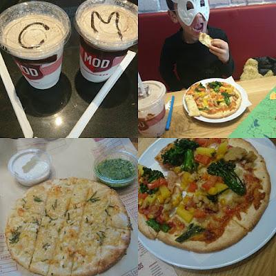 Half Term Adventures: Visiting MOD Pizza