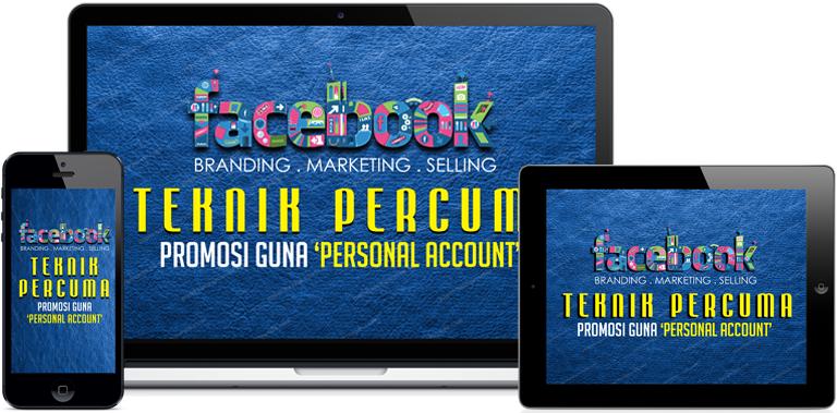 Teknik Percuma Promosi Produk Facebook