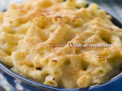 Mac e cheese parmesão