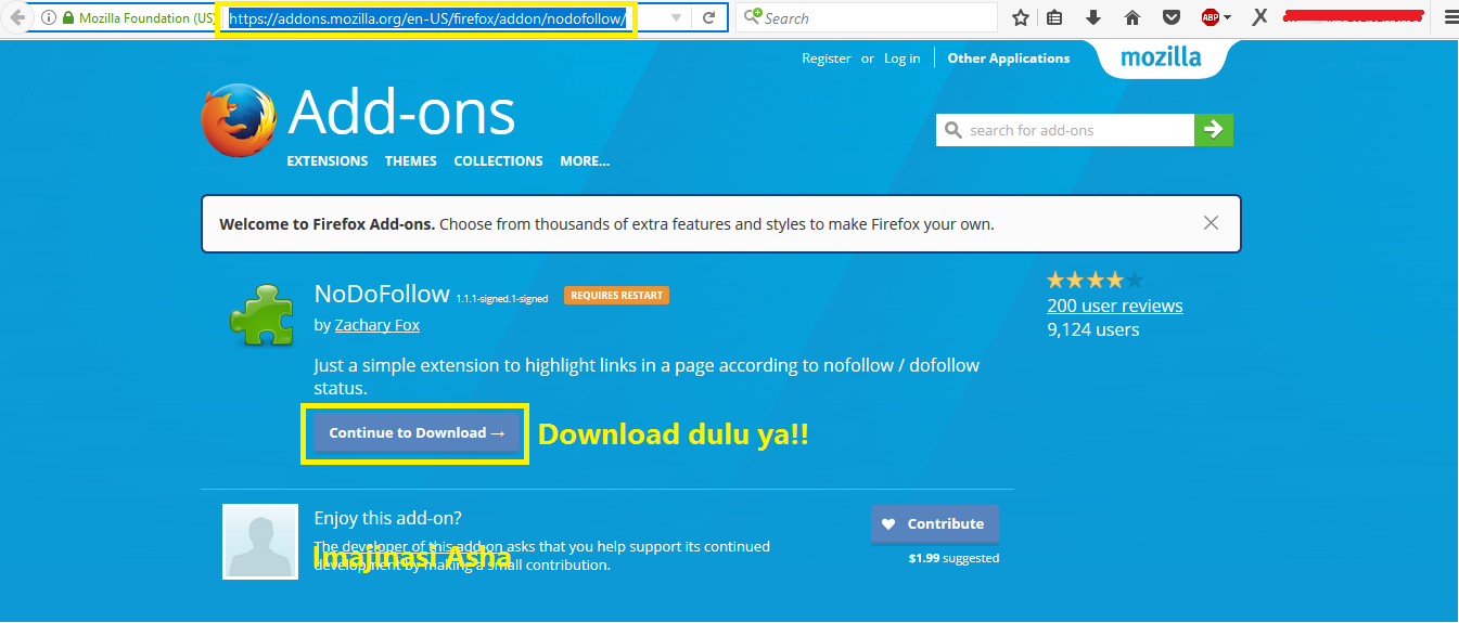Mudah Mengetahui doFollow dan noFollow pada Website