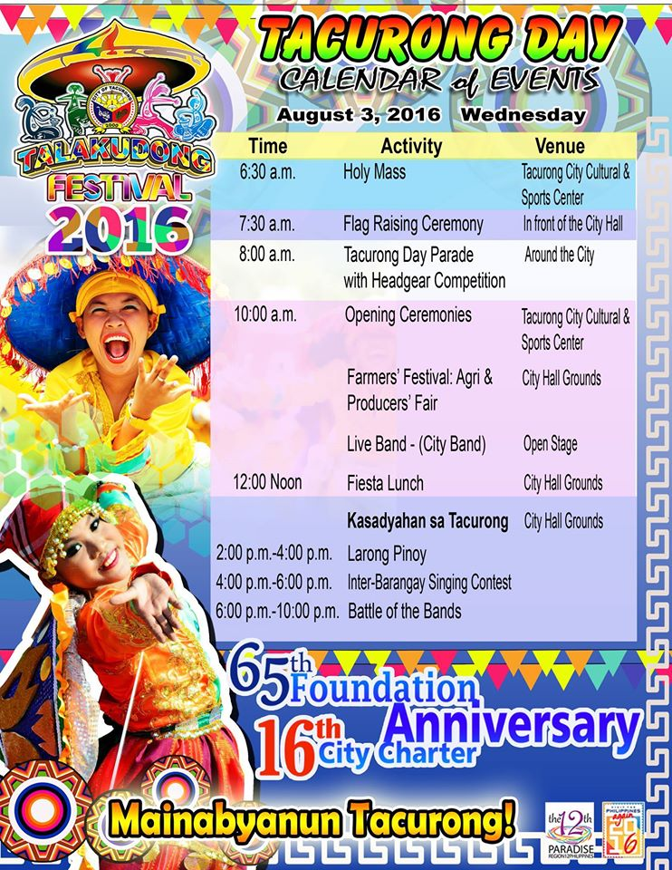 Tacurong Day 2016