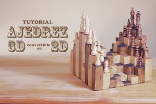variantes de ajedrez, ajedrez 3d