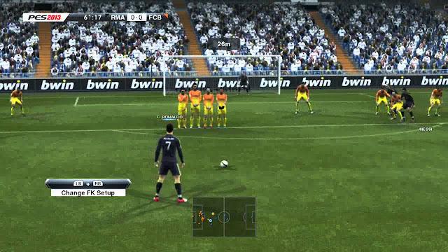 تحميل لعبة PES 2013 كاملة برابط واحد من ميديا فاير للكمبيوتر