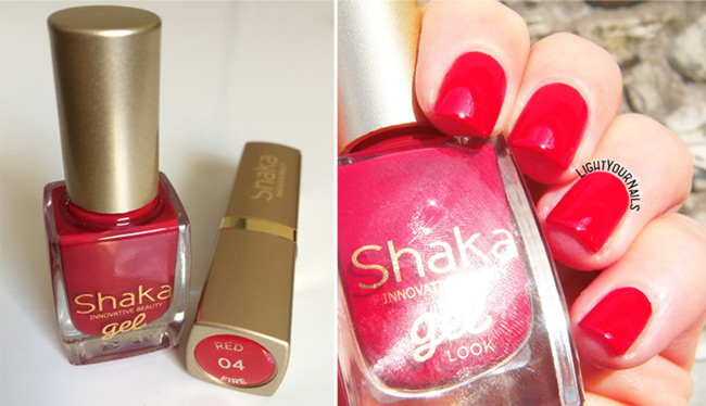 Shaka Red Fire (Red Show 04) smalto e rossetto