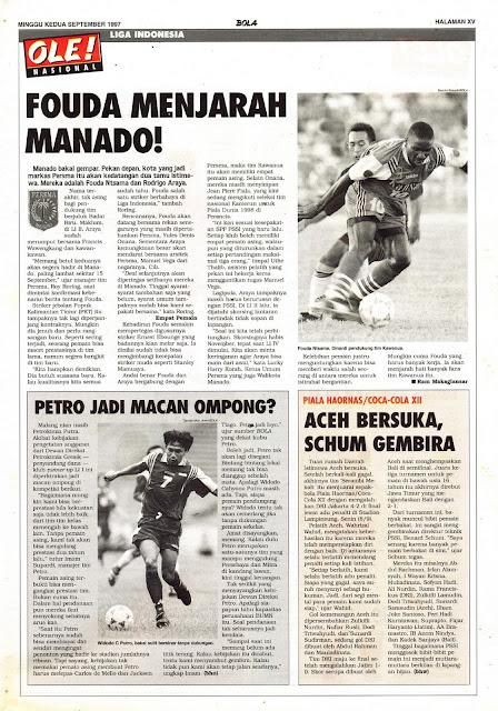 LIGA INDONESIA: FOUDA MENJARAH MANADO!