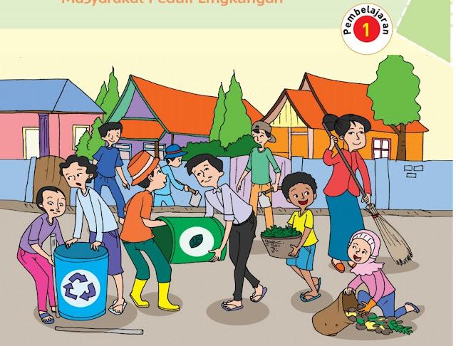 Buku Tematik Siswa Tema 6 Kelas 6 Semester 2 K13 Revisi 2018