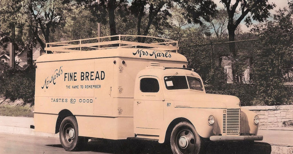 30 Vintage Photos Of Bakery And Bread Trucks From Between The 1930s 1950s Everyday